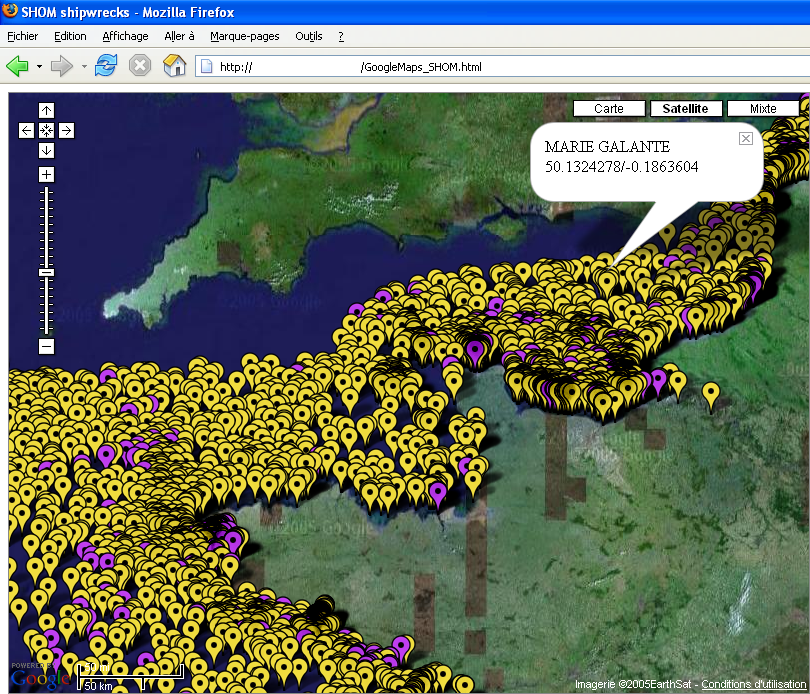 Google ocean marine data for google maps google earth about 4000 shipwrecks and 800 obstructions in google maps gumiabroncs Images