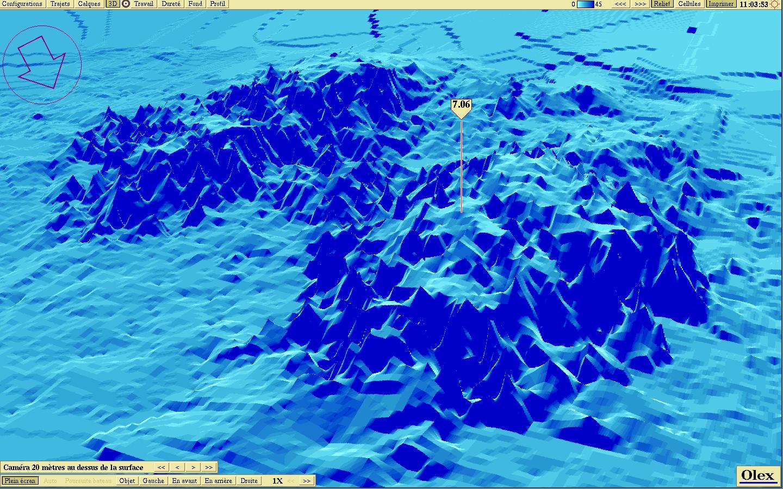 Image Gallery oceanographic map Pacific Ocean Underwater Map