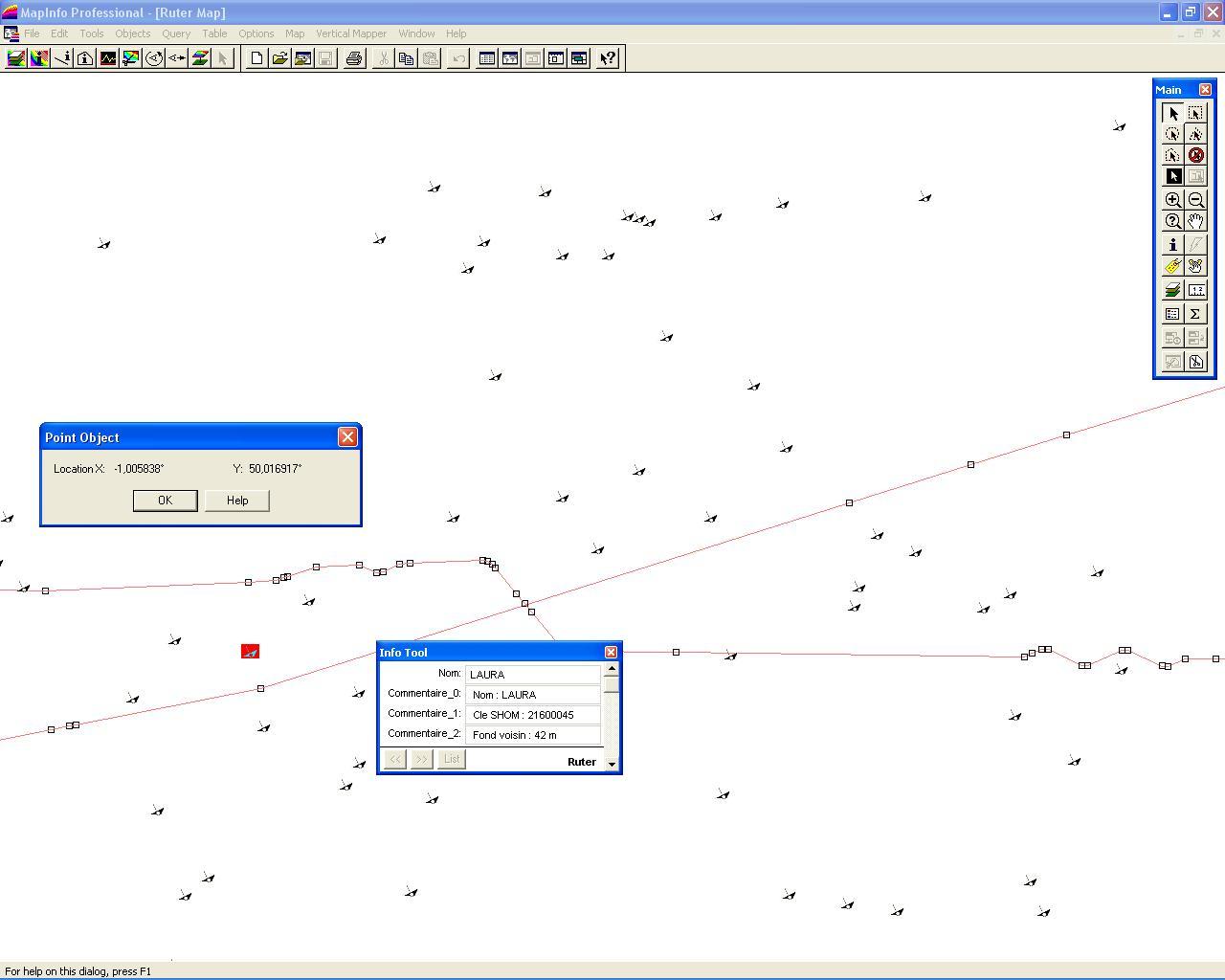 le logiciel vertical mapper